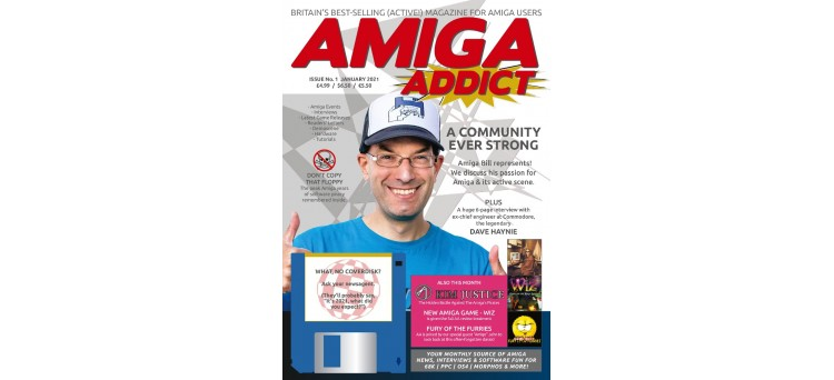 Amiga Addict Magazine Issue 01