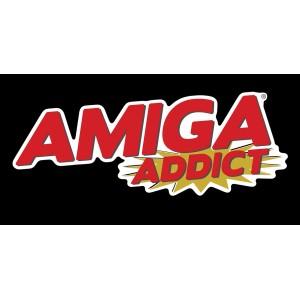 Amiga Addict Vinyl Sticker
