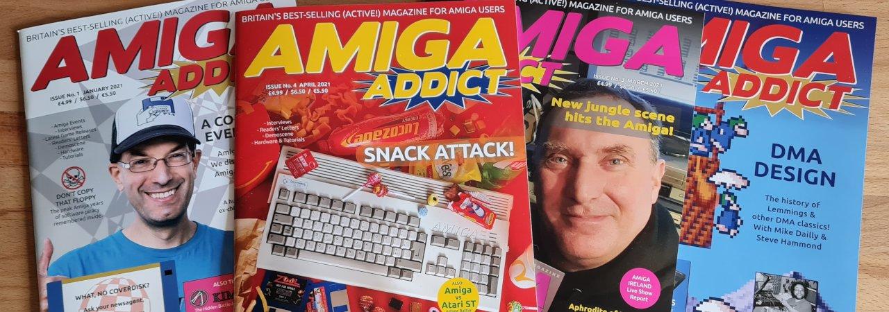Amiga magazines